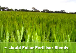 Liquid Foliar Fertiliser Blends